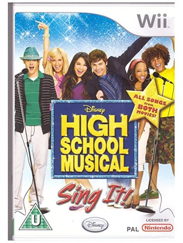 High School Musical : Sing It! ANG (używana) NintendoWii