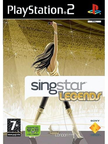 SingStar Legends DUŃSKA (używana) PS2