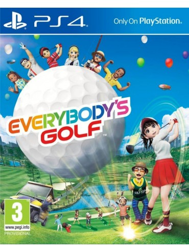 Everybody's Golf PL (folia)