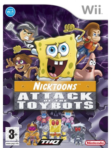 Nicktoons : Attack of the Toybots ANG (używana)