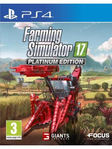 Farming Simulator 17 Edycja Platynowa PL (używana) PS4/PS5