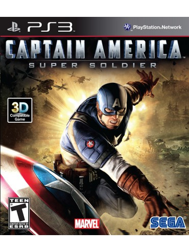 Captain America: Super Soldier ANG (używana)