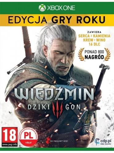 Wiedźmin 3 Dziki Gon - Edycja Gry Roku PL (folia)