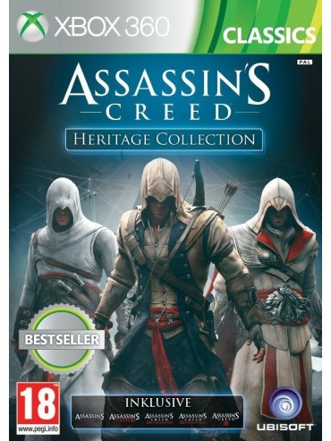 Assassin's Creed Heritage Collection PL (używana)