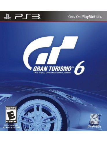 Gran Turismo 6 PL (używana)
