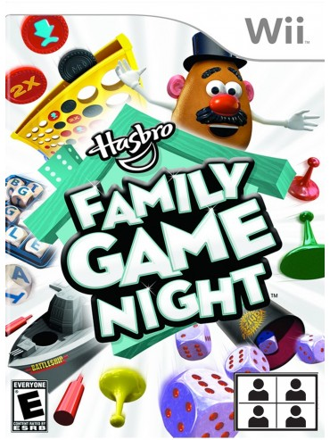 Hasbro Family Game Night ANG (używana) NintendoWii