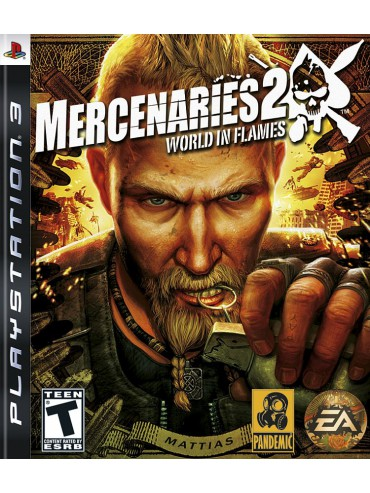 Mercenaries 2 World in Flames ANG (używane)
