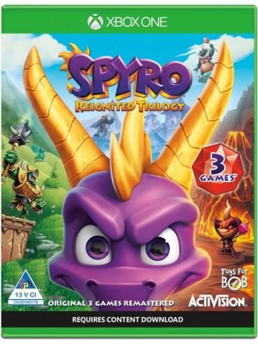 Spyro Reignited Trilogy PL