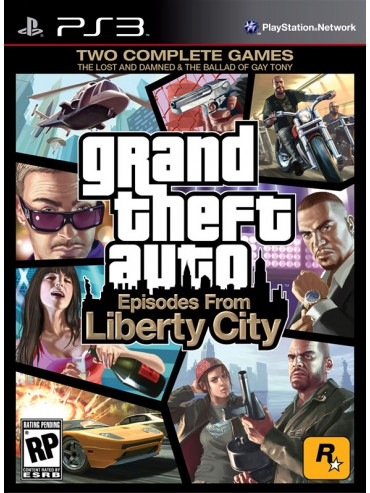 GTA Grand Theft Auto Episodes from Liberty City ANG (używana)