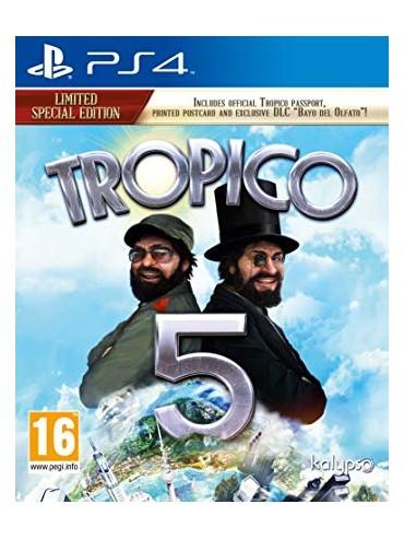 Tropico 5 ANG (używana) PS4/PS5