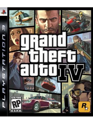 GTA IV Grand Theft Auto IV ANG (używana)