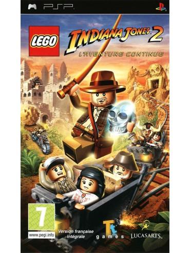 LEGO Indiana Jones 2 The Adventures Continues ANG (używana)