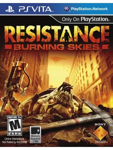Resistance Burning Skies ANG (używana)