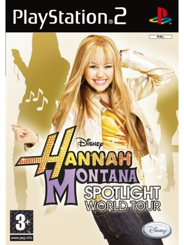 Hannah Montana: Spotlight World Tour ANG (używana) PS2