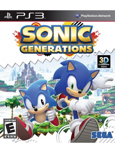 Sonic Generations ANG (używana)
