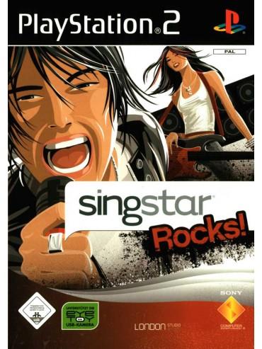 SingStar Rocks! ANG (używana) PS2