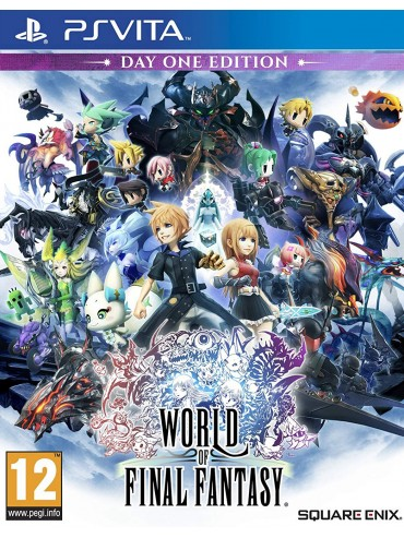 World of Final Fantasy ANG (używana)