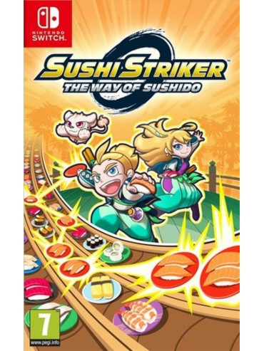 Sushi Striker: The Way of Sushido ANG (folia)