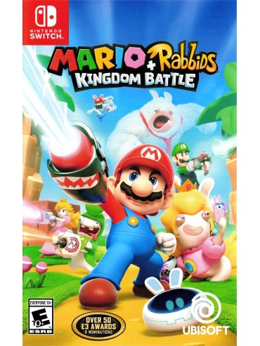 Mario + Rabbids: Kingdom Battle ANG (folia)