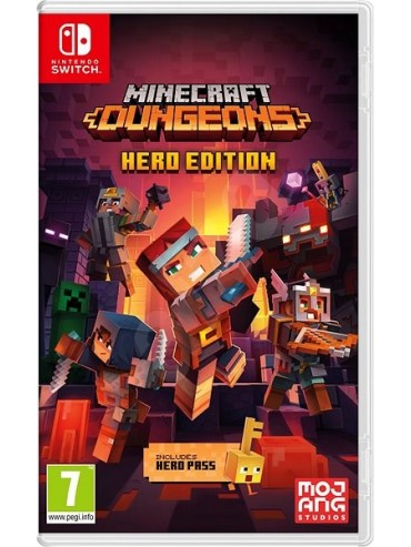 Minecraft : Dungeons Hero Edition ANG (folia)