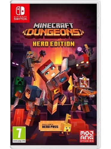 Minecraft : Dungeons Hero Edition ANG (folia)