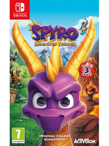 Spyro Reignited Trilogy PL (folia)