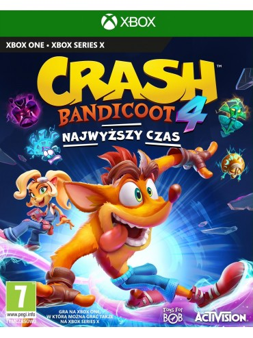 Crash Bandicoot 4 : Najwyższy czas PL (folia)