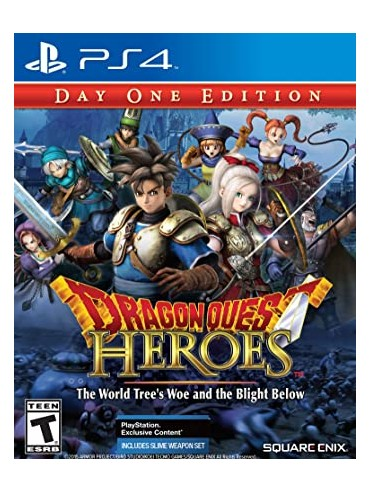 Dragon Quest Heroes: The World Tree's Woe and the Blight Below ANG (używana)