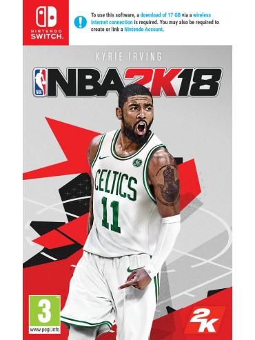NBA 2k18 ANG (używana) SWITCH