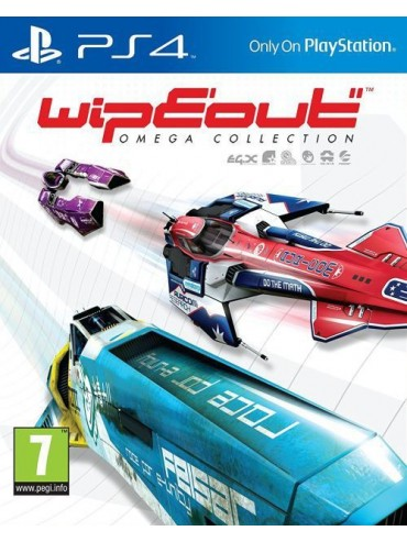 WipEout: Omega Collection PL (używana) PS4/PS5