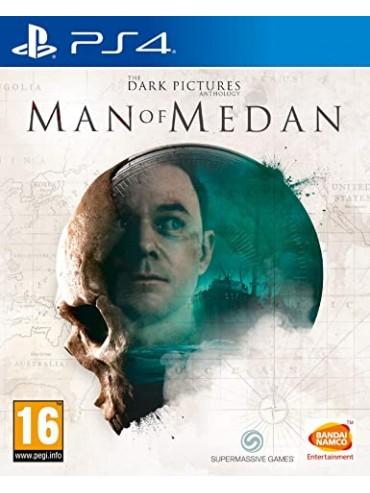 The Dark Pictures: Man of Medan ANG (używana) PS4/PS5