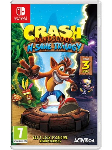 Crash Bandicoot N. Sane Trilogy ANG
