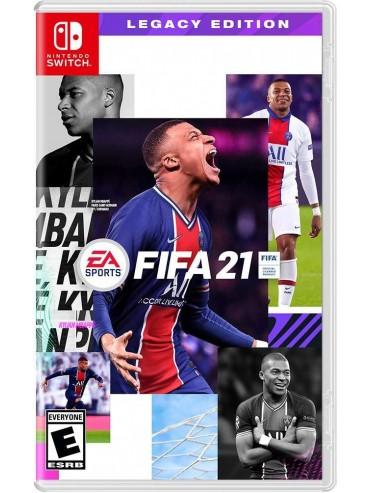 FIFA 21 PL (używana) SWITCH