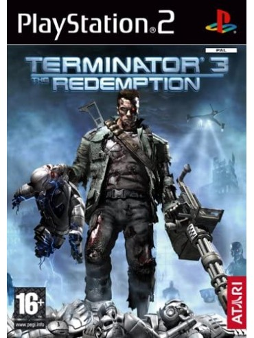 Terminator 3: The Redemption ANG (używana) PS2