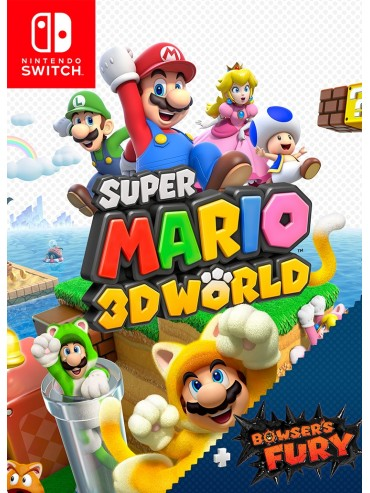 Super Mario 3D World + Bowser's Fury ANG (używana) SWITCH