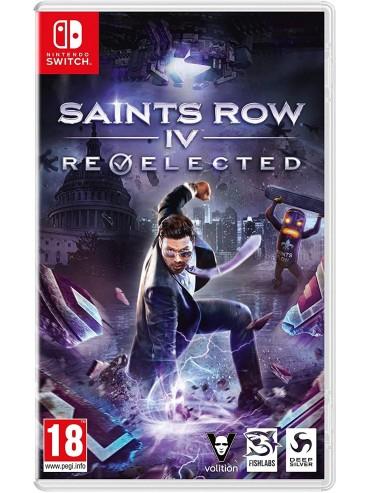 Saints Row IV: Re-Elected Switch ANG (używana)
