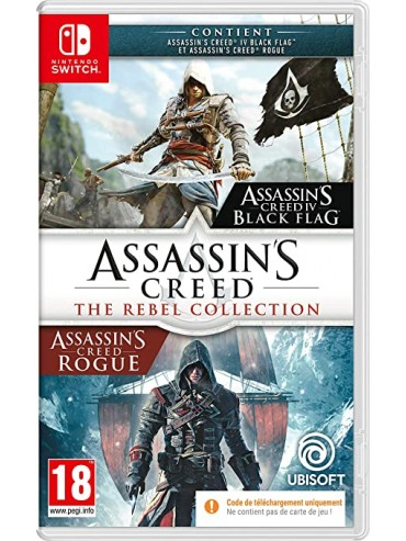 Assassin's Creed : The Rebel Collection PL (używana) SWITCH