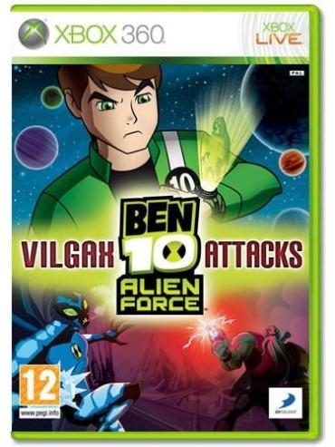 Ben 10 : Alien Force - Vilgax Attacks ANG (używana)