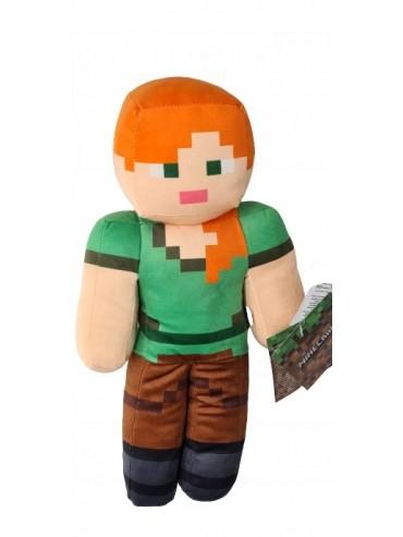 Maskotka Minecraft ALEX 35cm NOWA