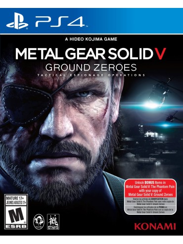 Metal Gear Solid V Ground Zeroes (używana)