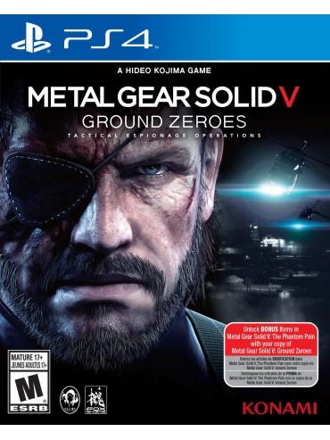 Metal Gear Solid V: Ground Zeroes (używana)